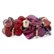 Mixit™ Beaded Double-Row Stretch Bracelet