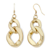 Pannee Gold-Tone Chain Link Earrings