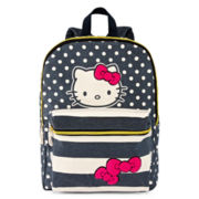 Hello Kitty® Dot Striped Backpack