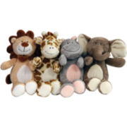 FouFou Dog™ Safari Friends Plush Toys 4-pk.