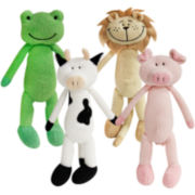 FouFou Dog™ Tall Animal Plush Toys 4-pk.