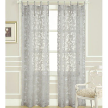 jcpenney.com | Laura Ashley® Rothbury Tie-Top Sheer Panel Pair