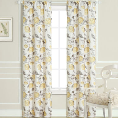 jcpenney.com | Laura Ashley® Hydrangea Rod-Pocket 2-Pack Curtain Panels