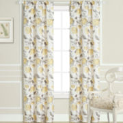 Laura Ashley® Hydrangea Rod-Pocket 2-Pack Curtain Panels