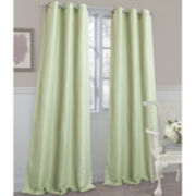 Laura Ashley® Berkley Grommet-Top Curtain Panel Pair