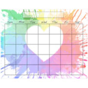 Colorful Heart Memo Board