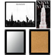 New York 4-pc. Wall Decor Set