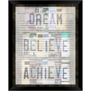 Dream Believe Achieve Memo Board