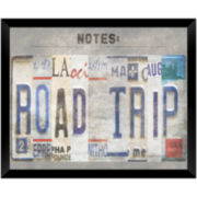 Road Trip Memo Board