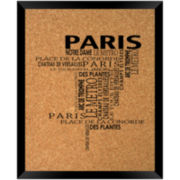 Paris Cork Board