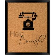 Hello Beautiful Cork Board