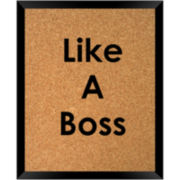Like a Boss Cork Board