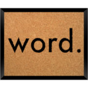 Word Cork Board