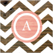 "Letter ""A"" Wall Decor"