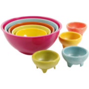 Simplemente Delicioso San Miguel 9-pc. Mixing and Salsa Bowl Set
