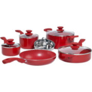 Philippe Richard® 10-pc. Aluminum Cookware Set with Triple Bonus