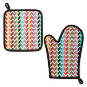 Oui by French Bull™ Vee Oven Mitt and Potholder