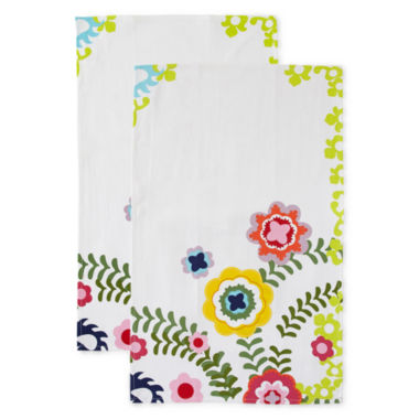 jcpenney.com | Oui by French Bull™ Susani Set of 2 Kitchen Towels