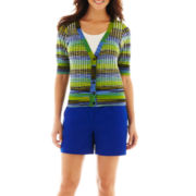 Worthington® Cardigan Sweater or Sateen Shorts