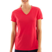Made For Life™ Short-Sleeve Seamed Mesh Tee