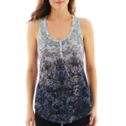 i jeans by Buffalo Floral Print Racerback Tank Top
