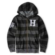 Arizona Striped Full-Zip Fleece Hoodie - Boys 6-18