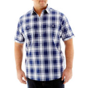 The Foundry Supply Co.™ Short Sleeve Modern Woven Shirt–Big & Tall