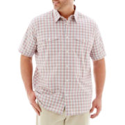 The Foundry Supply Co.™ Short Sleeve Modern Woven Shirt–Big & Tall
