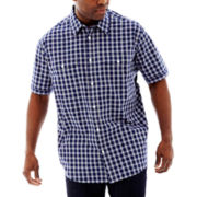 The Foundry Supply Co.™ Short Sleeve Modern Woven Shirt-Big & Tall