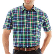 The Foundry Supply Co. Short-Sleeve Plaid Shirt-Big & Tall