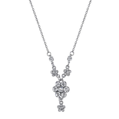 jcpenney.com | 1928® Jewelry Crystal Flower Cluster Necklace