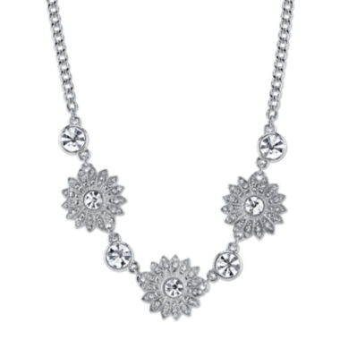 jcpenney.com | 1928® Jewelry Crystal Sunburst Collar Necklace
