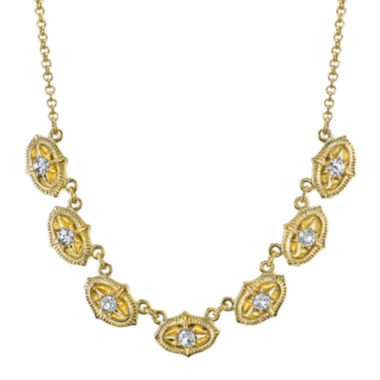 jcpenney.com | 1928® Jewelry Crystal Collar Necklace