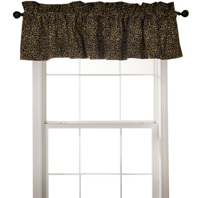 HiEnd Accents San Angelo Leopard Valance