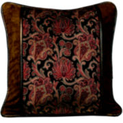 HiEnd Accents Austin Square Decorative Pillow