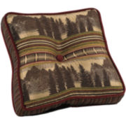 HiEnd Accents Briarcliff Square Decorative Pillow