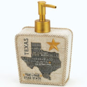 Avanti Texas Lone Star Soap Dispenser