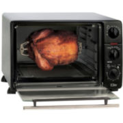 Elite Toaster Oven Broiler with Rotisserie