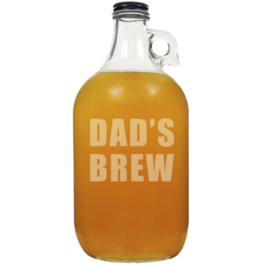 "jcpenney.com | Cathy's Concepts ""Dad's Brew"" 64-oz. Beer Growler"