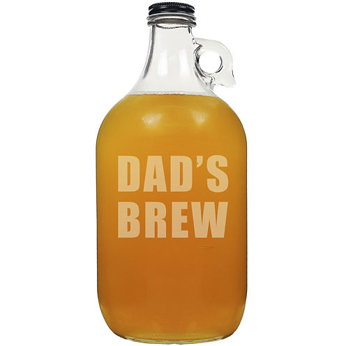 "Cathy's Concepts ""Dad's Brew"" 64-oz. Beer Growler"
