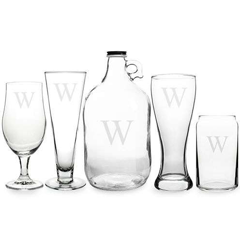 Cathy's Concepts Personalized Craft Beer 5-pc. Party Glassware Set