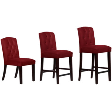 jcpenney.com | Esme Upholstered Velvet Seating Collection