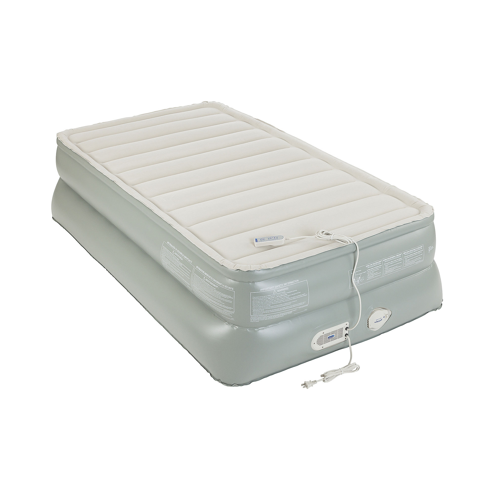 ... UPC 760433002421 product image for AeroBed Premier 3-Layer Double-High  Twin Air Mattress