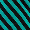 Teal Evenstripe