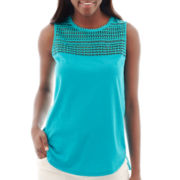 Stylus™ Crochet Knit Tank Top