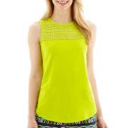 Stylus™ Crochet Knit Tank Top