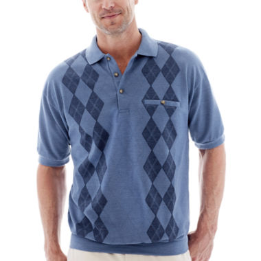 jcpenney.com | Palmland® Banded-Bottom Polo Shirt
