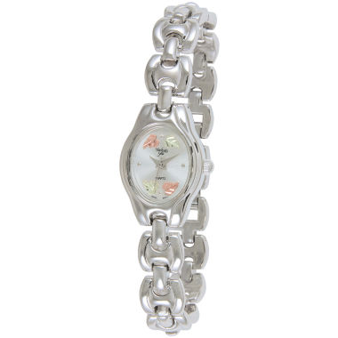 jcpenney.com | Black Hills Gold® Womens Silver-Tone Watch