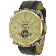 Ingersoll® Montgomery Automatic Leather Watch