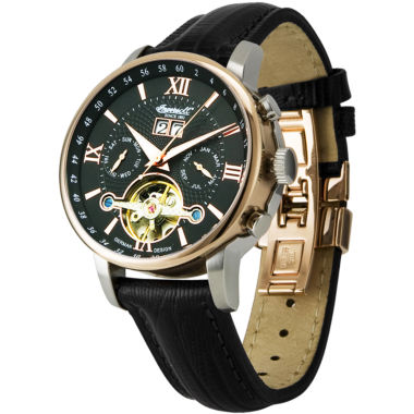 jcpenney.com | Ingersoll® Grand Canyon Automatic Black Leather